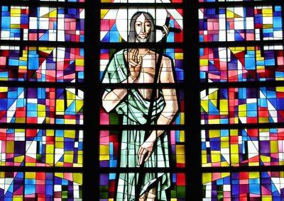Vitrail saint Jean-Baptiste