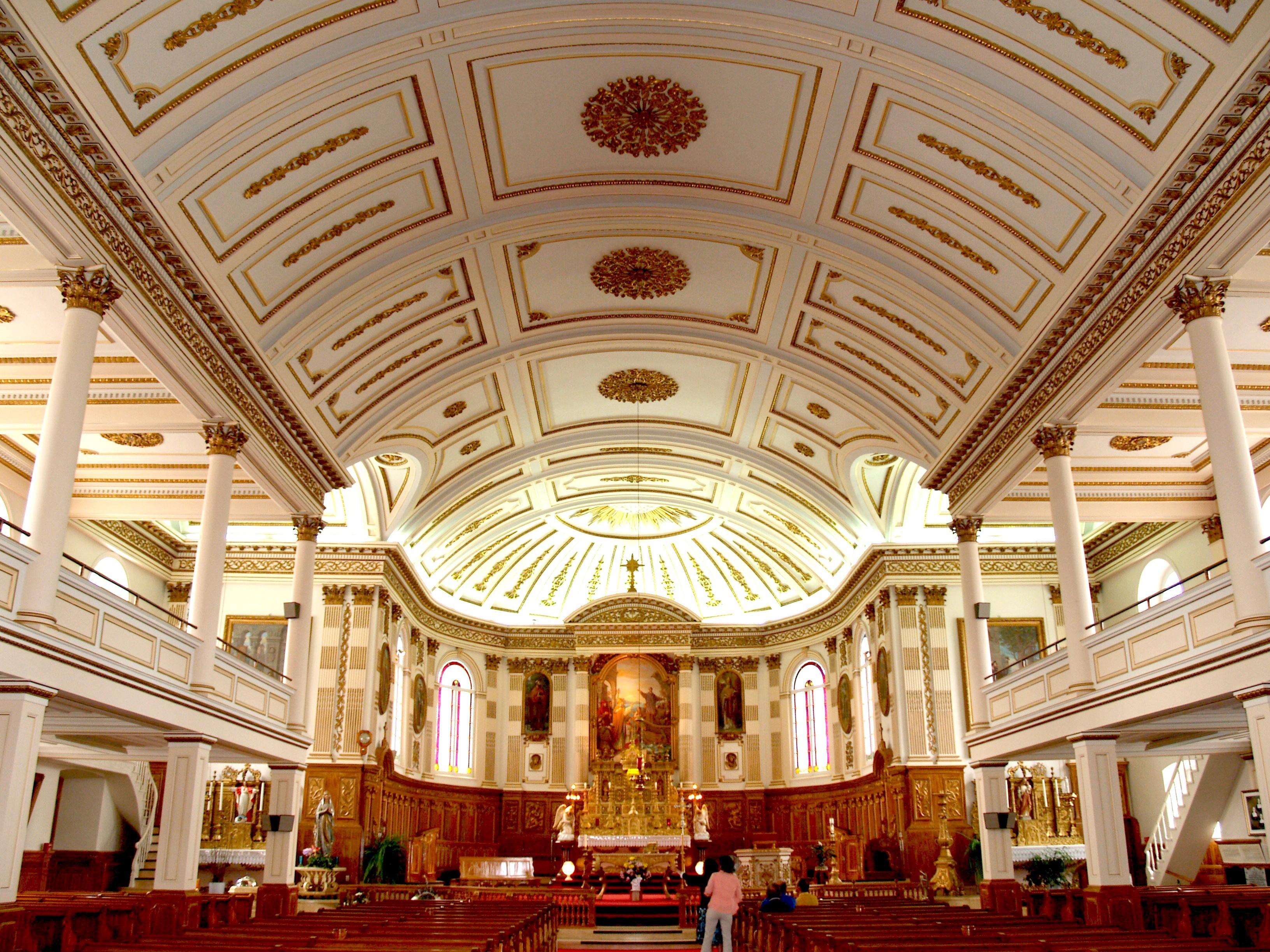 Église de Saint-Grégoire, intérieur