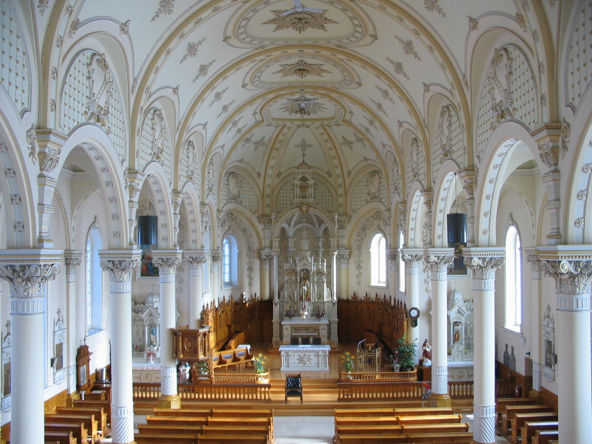 Saint-Sylvère, vue du jubé