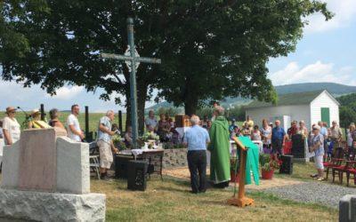 Messe au cimetière Saint-Paul