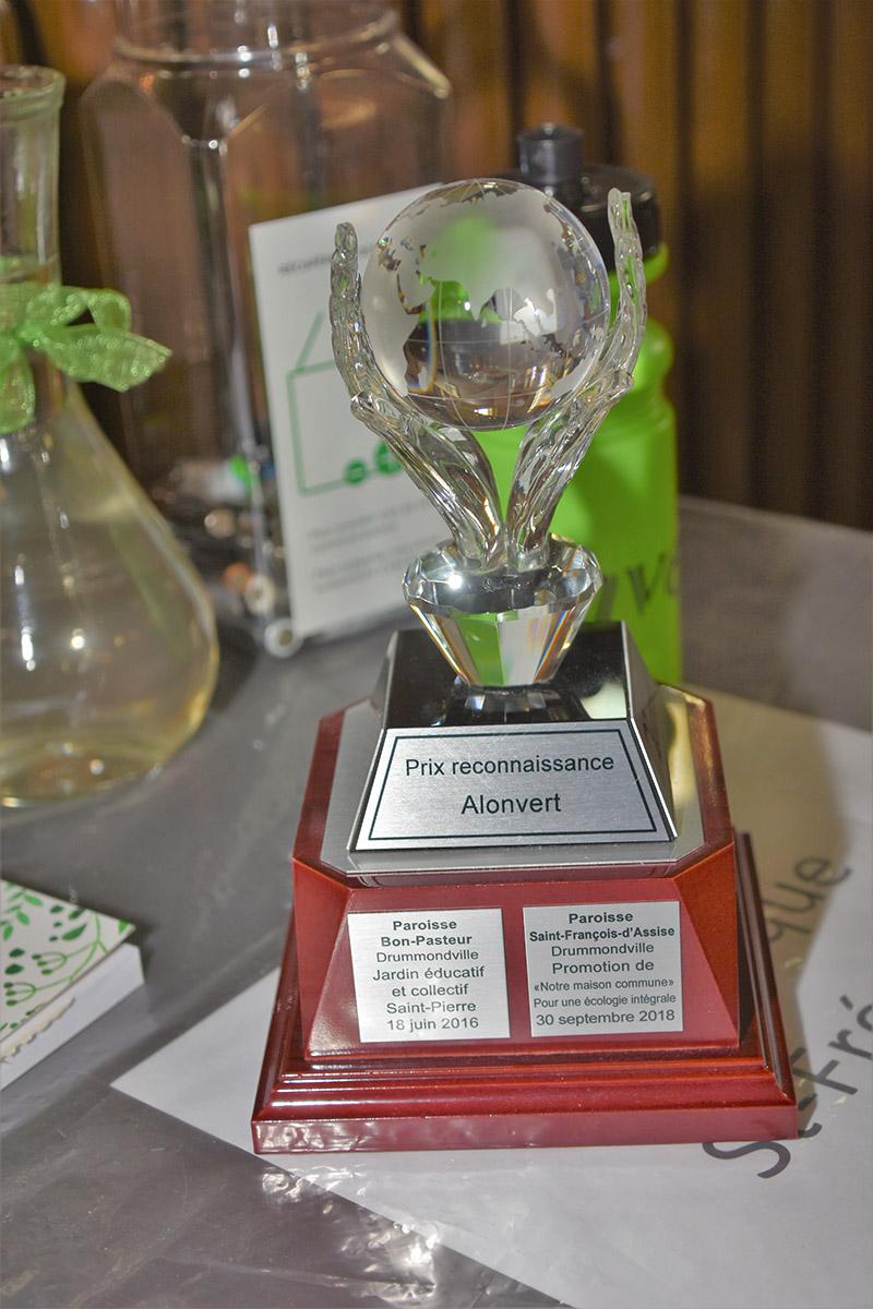 Prix reconnaissance Alonvert