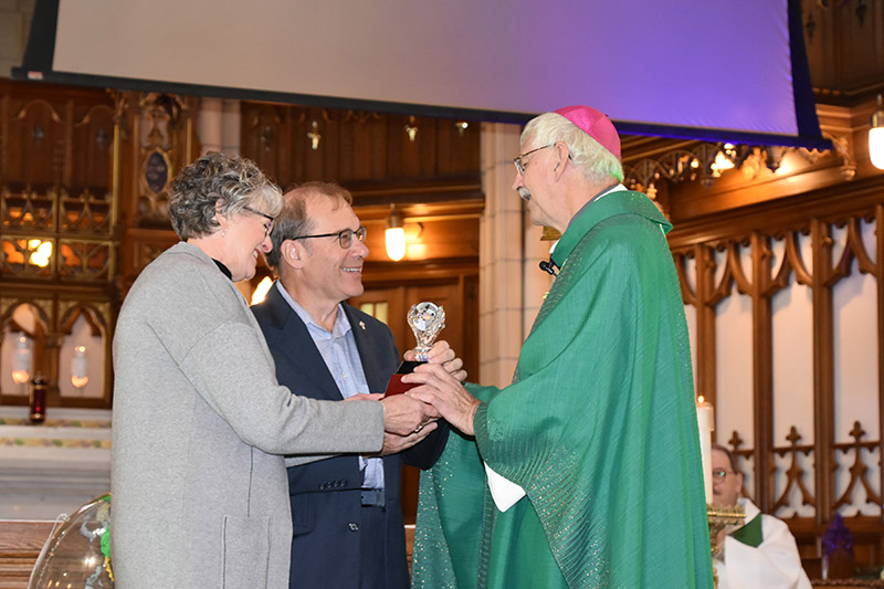 Prix remis par Mgr André Gazaille