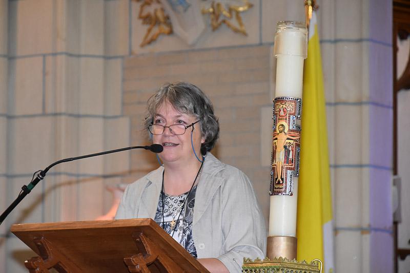 Sylvie Gagné, service diocésain Présence au monde