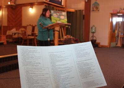 On peut regarder tous les textes proposés par la liturgie de ce carême avec les « lunettes » du salut.