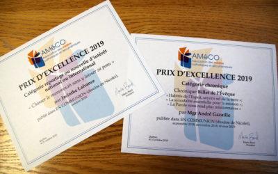 Deux Prix de l'AMéCO