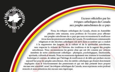 Excuses officielles aux Peuples autochtones